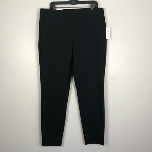 Black Pull On Stretch Tummy Control Leggings XL